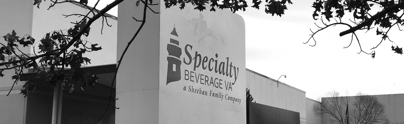 Specialty Beverage sign